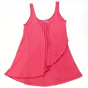 Michael Stars Pink Sparkle Tank Top One Size